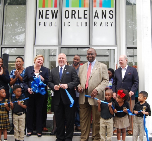 Mid-City Library Ribbon Cutting