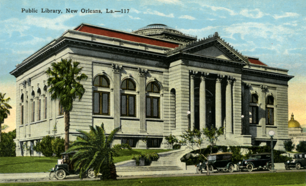 History of the New Orleans Public Library