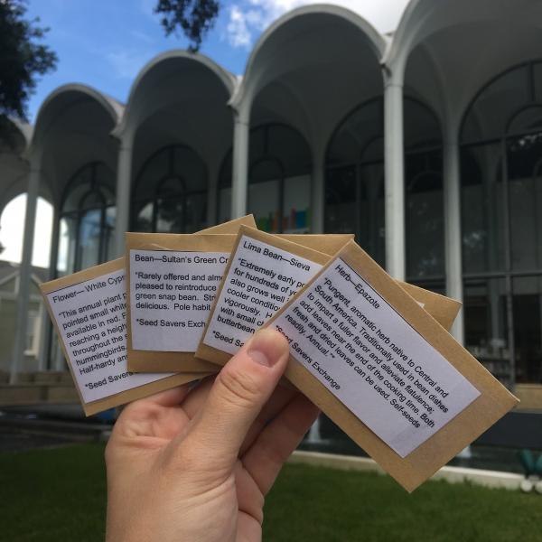 Check out seeds at Mid-City Library