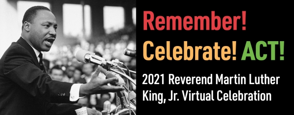 Virtually Celebrate Dr. Martin Luther King, Jr. This Year