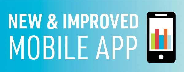 Download Our New & Improved Mobile App Today