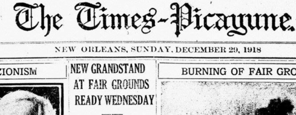 Historic Times Picayune Database